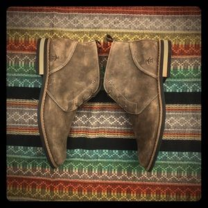 Original Penguin Distressed Leather Boot Men Sz 12